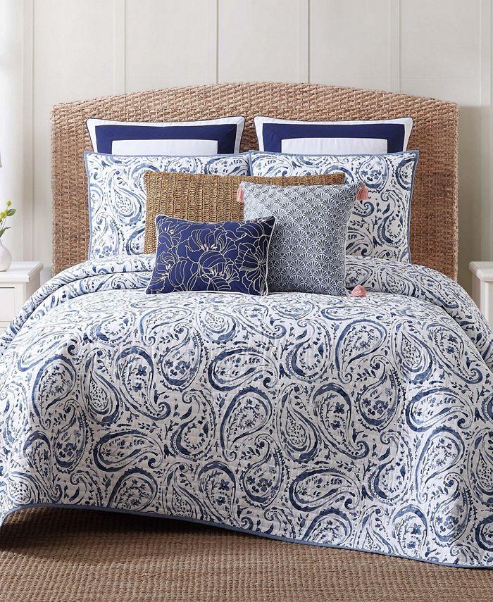 Oceanfront Resort - Indienne Paisley Quilt Set Collection