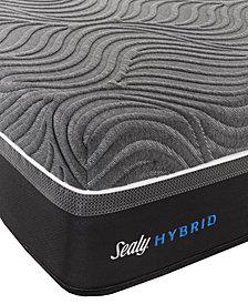 "Sealy Silver Chill 14"" Hybrid Firm Mattress- Queen"