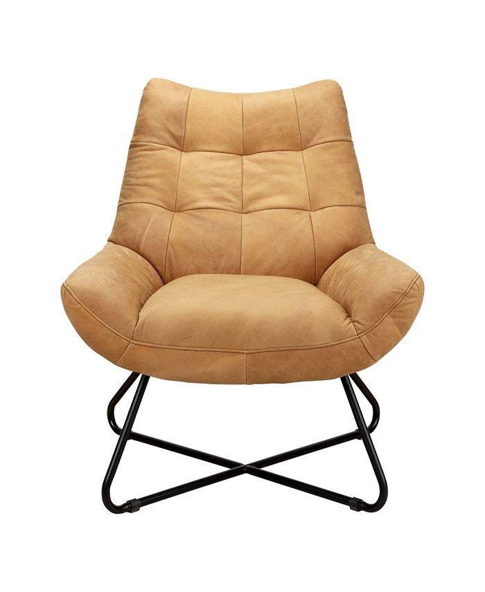 Moe's Home Collection - GRADUATE LOUNGE CHAIR TAN