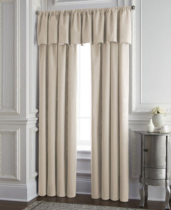 "Colcha Linens Cambric Vanilla Lined Drapery Panel 52""x84"" - Each"