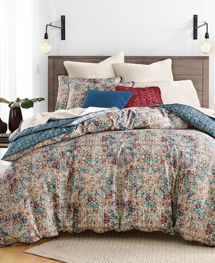 Lucky Brand - Alma Reversible 3-Pc. Full/Queen Comforter Set, Created for Macy's