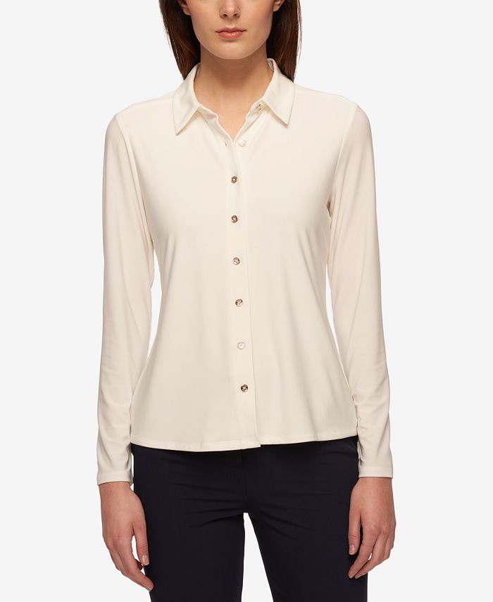 Tommy Hilfiger - Point-Collar Blouse