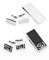 Sean John Accessories, Money Clip and Cufflinks Boxed Set