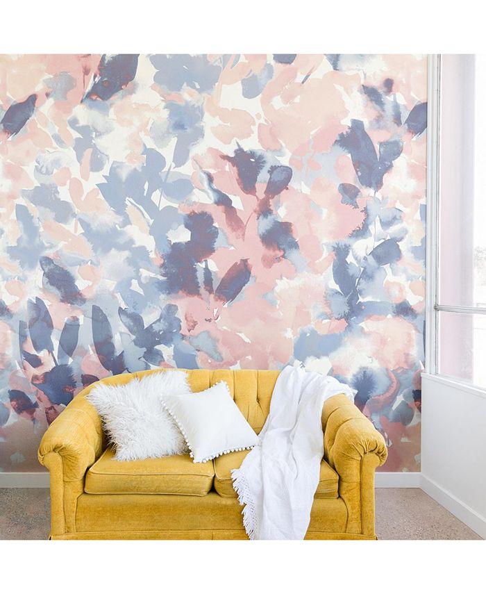 Deny Designs Jacqueline Maldonado Intuition Pale Peach Blue 8 X8 Wall Mural Reviews Wallpaper Home Decor Macy S