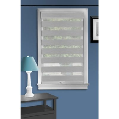 "Cordless 39""x72"" Celestial Sheer Double Layered Shade"