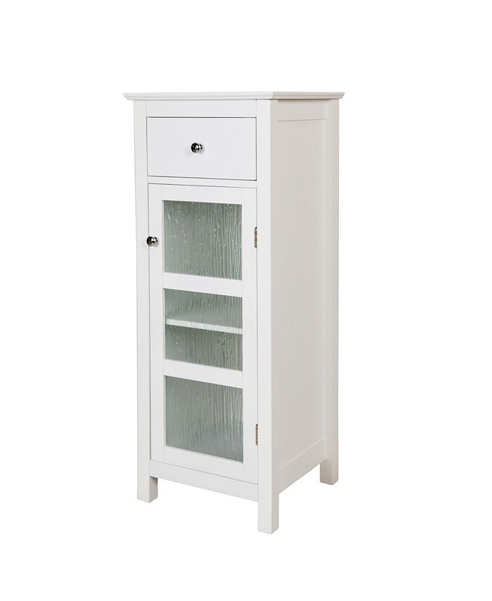 Elegant Home Fashions - Connor Floor Cabinet with 1 Door and 1 Drawer