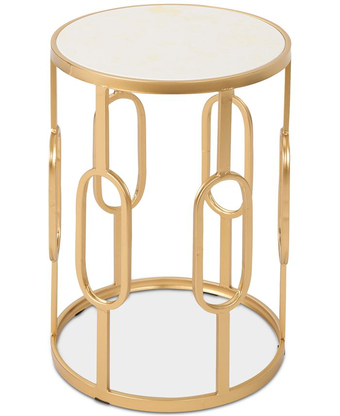 Noble House - Mahalia Side Table, Quick Ship