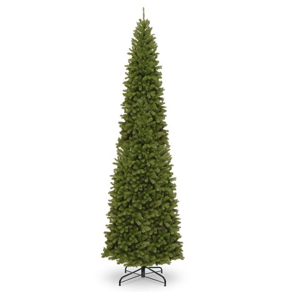 National Tree Company National Tree 12' North Valley Spruce Pencil Slim Tree