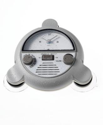 Sharper Image™ Shower Radio with Clock