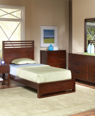 Tahoe Twin Bed Copper Furniture Macy 39 S