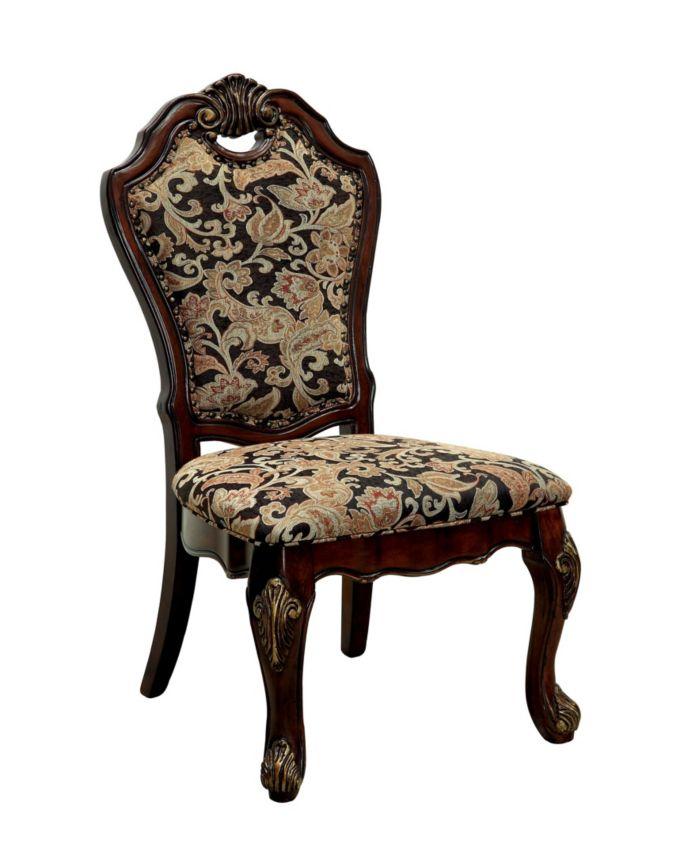 Furniture of America Fruett Cherry Dining Chair (Set of 2) & Reviews - Furniture - Macy's