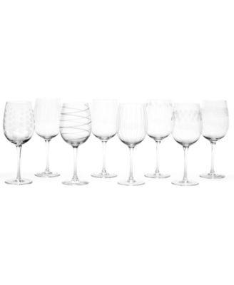 Mikasa Glassware, Buy 6 Get 8 Mixed Cheers Wine Glasses