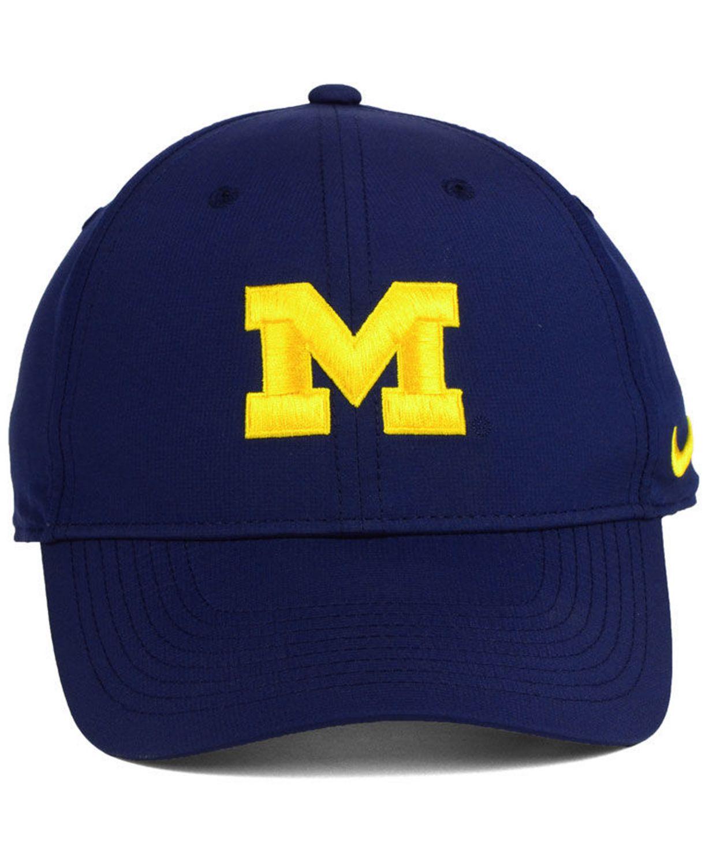 Nike Michigan Wolverines Dri-Fit Adjustable Cap & Reviews - Sports Fan Shop By Lids - Men - Macy's