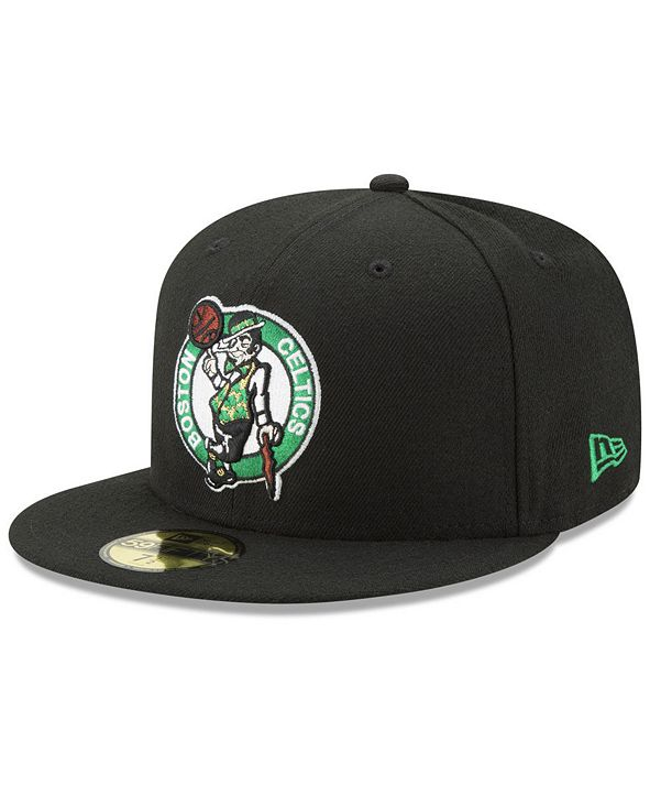 New Era Boston Celtics Basic 59FIFTY Fitted Cap 2018