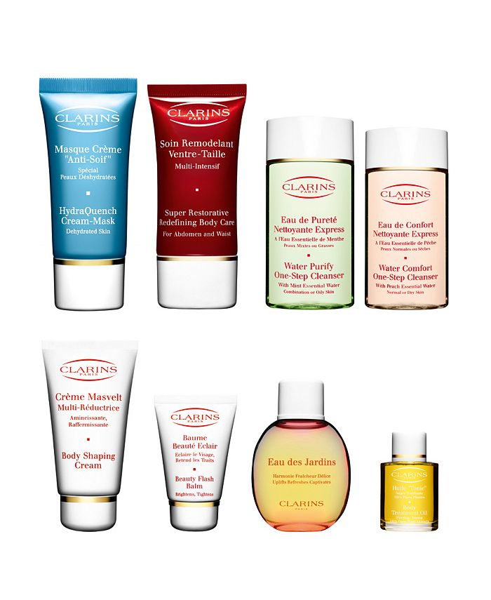Clarins - FREE Deluxe Sample Duo with purchase of 2 or more  items - one item must be skin care.