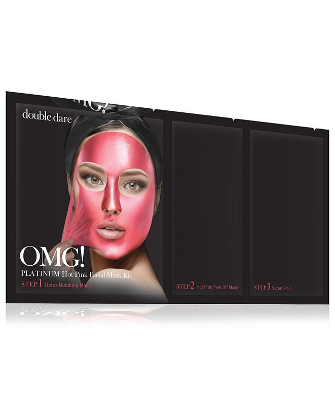 Double Dare OMG! Platinum Hot Pink Facial Mask