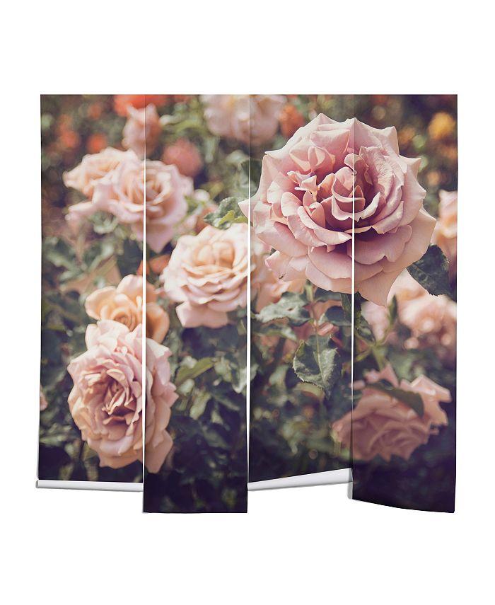 Deny Designs Bree Madden Rose 12 X8 Wall Mural Reviews Wallpaper Home Decor Macy S