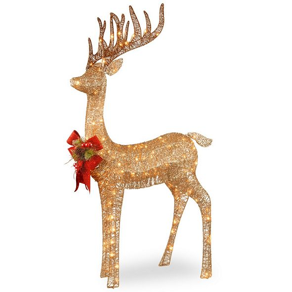 "National Tree Company 48"" Pre-lit Standing Reindeer"