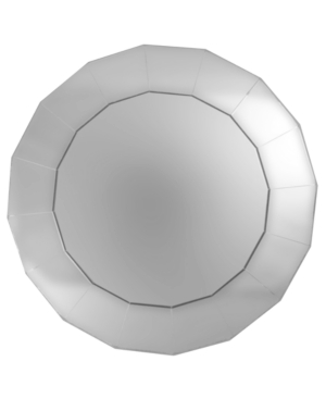 Jay Imports Serveware, Mirror Charger Plate