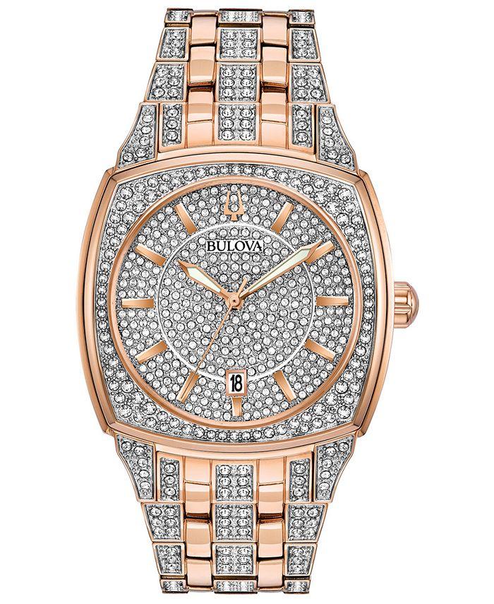 Bulova - Men's Two-Tone Stainless Steel Bracelet Watch 40mm