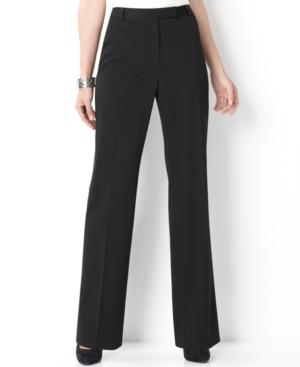 Charter Club Pants, Straight Leg Pinstripe Trousers