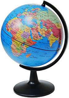 Elenco 5 Inch Political Globe
