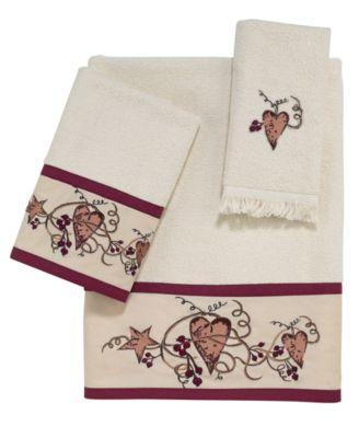Hearts and Stars Bath Towel
