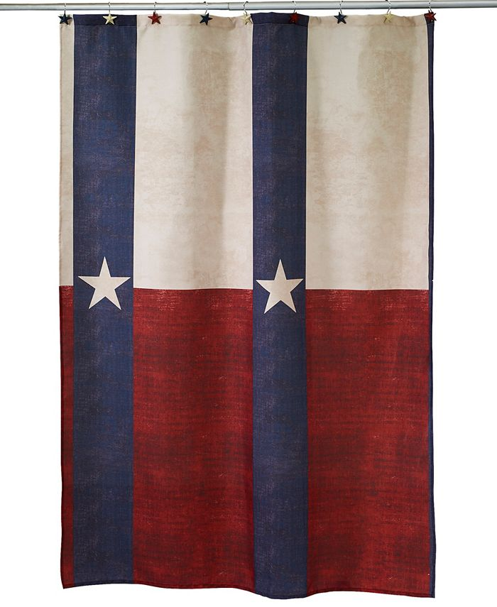 Avanti - Texas Star Shower Curtain