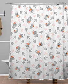 Deny Designs Iveta Abolina Butterscotch Shower Curtain