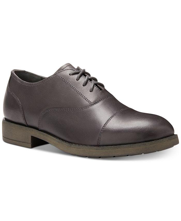 Eastland Shoe - Men's Sierra Leather Cap-Toe Oxfords