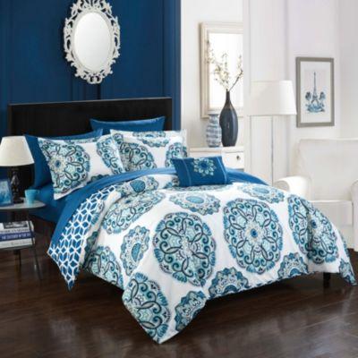 Barcelona 8-Pc Full/Queen Comforter Set