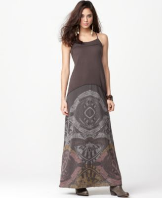 Free People Dress, Sleeveless Blast From the Past Maxi