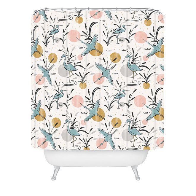 Deny Designs Heather Dutton Marshland Shower Curtain