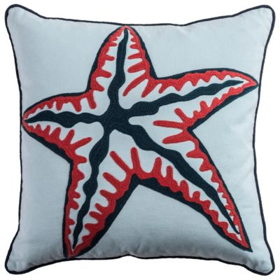 "18"" x 18"" Coastal Poly Filled Pillow"