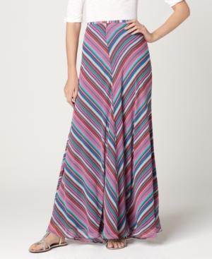 Buffalo Jeans Skirt, Bucky Striped Maxi A-Line