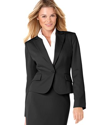 Anne Klein One Button Blazer Jackets Amp Blazers Women