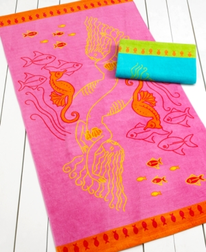 Martha Stewart Collection Towels, Under The Sea Beach Towel