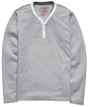 American Rag Shirt, Basic Feeder Henley