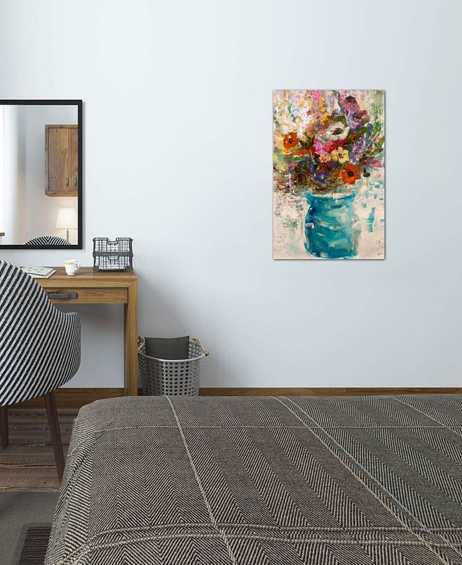 """iCanvas """"Vase Study"""" by Julian Spencer Gallery-Wrapped Canvas Print"""