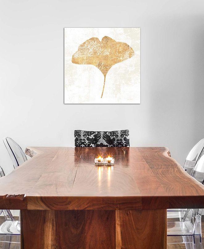 "iCanvas ""Bronzed Leaf III"" by Sue Schlabach Gallery-Wrapped Canvas Print (18 x 18 x 0.75)"