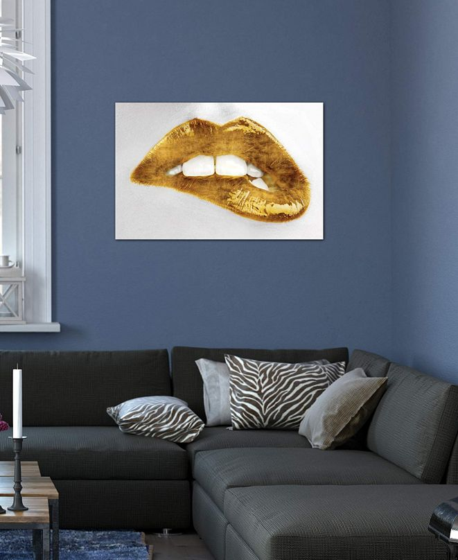"iCanvas ""Luscious Gold"" by Sarah McGuire Gallery-Wrapped Canvas Print (18 x 26 x 0.75)"