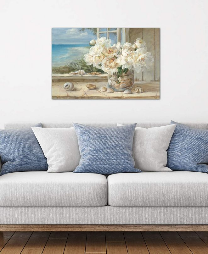 """iCanvas """"By the Sea"""" by Danhui Nai Gallery-Wrapped Canvas Print (26 x 40 x 0.75)"""