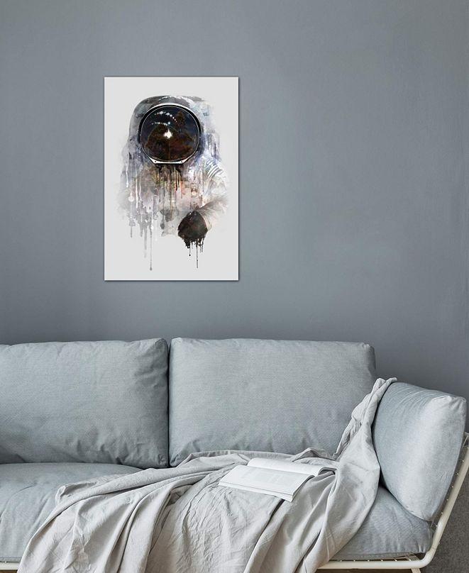 "iCanvas ""Astronaut I"" by DÃániel Taylor Gallery-Wrapped Canvas Print (40 x 26 x 0.75)"