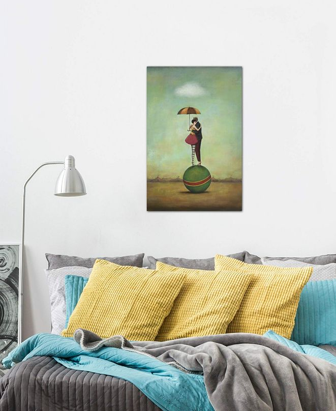 """iCanvas """"Circus Romance"""" by Duy Huynh Gallery-Wrapped Canvas Print (40 x 26 x 0.75)"""