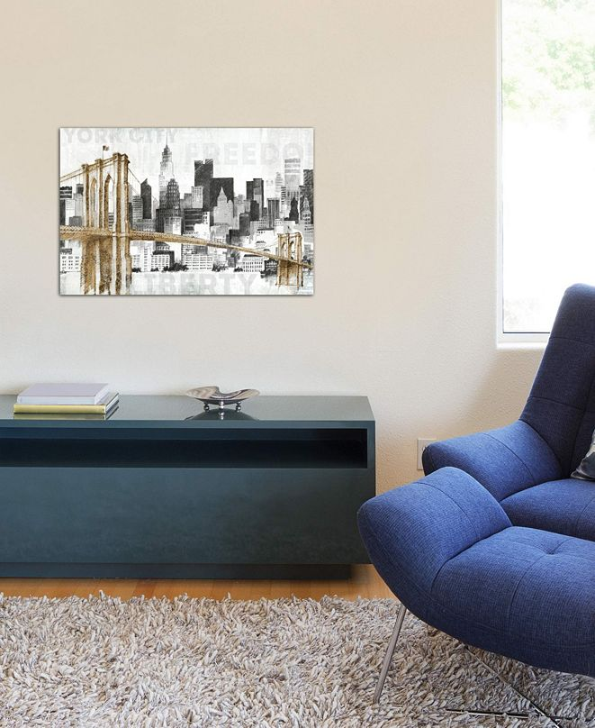 "iCanvas ""New York Skyline I"" by Avery Tillmon Gallery-Wrapped Canvas Print (26 x 40 x 0.75)"