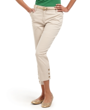 Charter Club Pants, Classic Straight Leg Cropped Capris