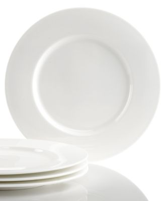 Hotel Collection Dinnerware, Set of 4 Bone China Appetizer Plates