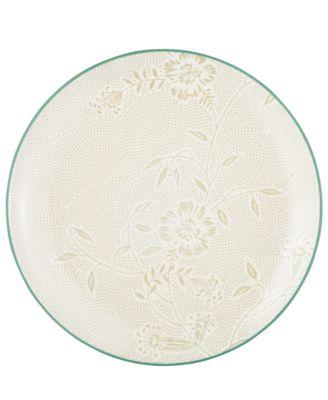 Noritake Dinnerware, Colorwave Turquoise Bloom Dinner Plate