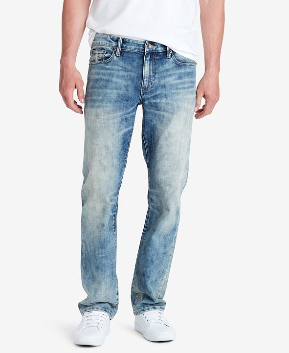 WILLIAM RAST Men's Legacy Relaxed Straight Jeans