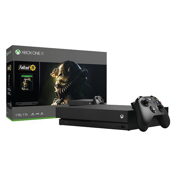 Xbox One X Fallout 76 Bundle